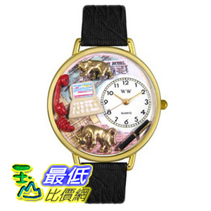 [美國直購 ShopUSA] Whimsical Watches Unisex Stock Broker Gold 手錶 G0610003 $2337
