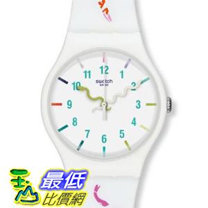 [美國直購 ShopUSA] Swatch 手錶 Originals The Legend of the White Snake Silicone Unisex Watch SUOZ158 $3296