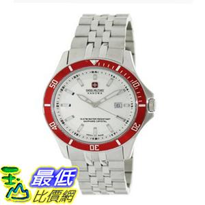 [美國直購 ShopUSA] 手錶 Swiss Military Hanowa Men's Flagship 06-5161-7-04-001-04 Silver Stainless-Steel Swiss Quartz Watch with White Dial $5893
