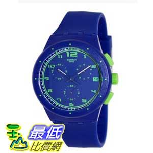[美國直購 ShopUSA] Swatch 手錶 Originals Blue Chronograph Royal Blue Silicone Unisex Watch SUSN400 $3683