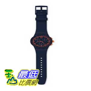 [美國直購 ShopUSA] Swatch 手錶 Originals Blue Rebirth Blue and Orange Chronograph Mens Watch SUSN401 $4063