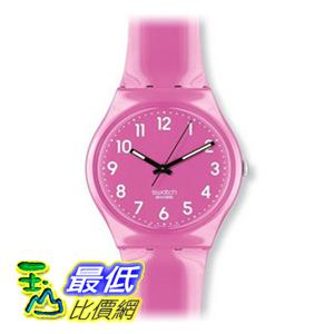 [美國直購 ShopUSA] Swatch 手錶 Women's GP128 Quartz Plastic Pink Dial Watch $2085