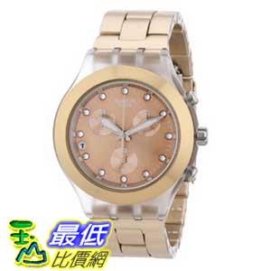 [美國直購 ShopUSA] Swatch 手錶 Men's SVCK4047AG Quartz Chronograph Date Plastic Beige Dial Watch $4987