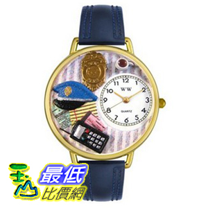 [美國直購 ShopUSA] Whimsical 手錶 Watches Unisex Police Officer Gold Watch G0610016 $2337