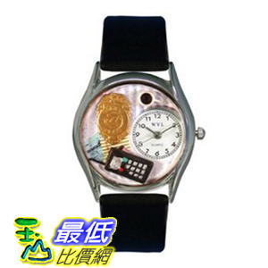 [美國直購 ShopUSA] Whimsical 手錶 Watches Women's S0620013 Police Officer Black Leather Watch $1898