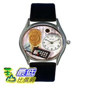 [美國直購 ShopUSA] Whimsical 手錶 Watches Unisex Police Officer Silver Watch S0620013 $2337