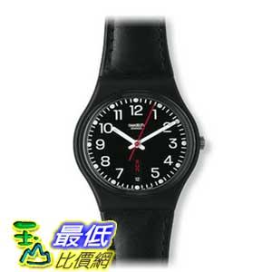 [美國直購 ShopUSA] Swatch 手錶 Women's GB750 Quartz Black Dial Plastic Measures Seconds Watch $2089