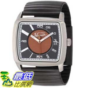 [美國直購 ShopUSA] Original Penguin 手錶 Men's OP 3010 BK Lewis Black Stainless Steel Expansion Bracelet Watch $4147