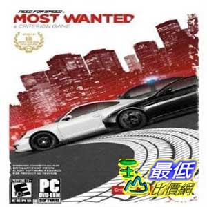 [美國直購 ShopUSA] PC版 Need for Speed: Most Wanted  _BB2 $1019