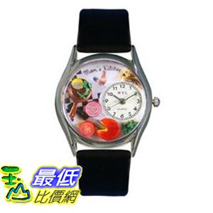 [美國直購 ShopUSA] Whimsical 手錶 Watches Women's S1010015 Mom's Kitchen Black Leather Watch $1231