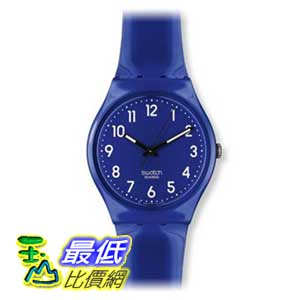 [美國直購 ShopUSA] Swatch 手錶 Men's GN230 Up-Wind Blue Dial Watch $1695