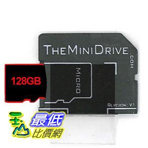 [104美國直購] The MiniDrive B00AL1385C microSD Adaptor | MacBook Air/Pro/Retina 記憶卡 轉接卡