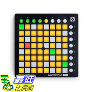 [美國直購] Novation Launchpad Mini Compact USB Grid Controller for Ableton Live, MK2 Version 控制器