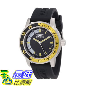[104美國直購] 手錶   Invicta Men's 12846 Specialty Stainless Steel Watch with Black Band
