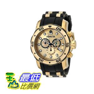 [104美國直購] 手錶  Invicta Men's 17885 Pro Diver Analog Display Swiss Quartz Black Watch