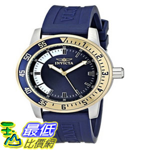 [104美國直購] 手錶 Invicta Men's 12847 Specialty Stainless Steel Watch with Blue Band