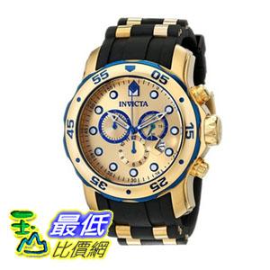 [104美國直購] 手錶   Invicta Men's 17887 Pro Diver Analog Display Swiss Quartz Black Watch
