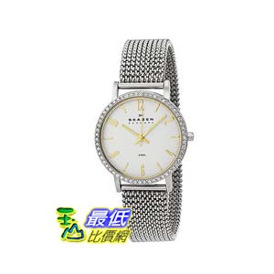 [美國直購 ShopUSA] Skagen 手錶 Glitz Silver Dial Stainless Steel Ladies Watch 922SGS2 bfy $3479