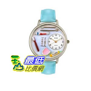 [美國直購 ShopUSA] 手錶 Whimsical Watches Women's U0620001 Cross Stitch Yellow Leather Watch  $2297