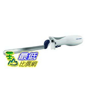 [103 美國直購] Black & Decker EK700 9-Inch Electric Carving Knife, White 不鏽鋼電動刀 切麵包 切雞 切火腿 超好用 _CB11