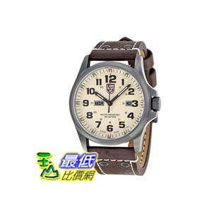 [美國直購 ShopUSA] Luminox Atacama 手錶 Field Day Black Carbon Fiber Dial Brown Leather Mens Watch 1927 bfy $15807