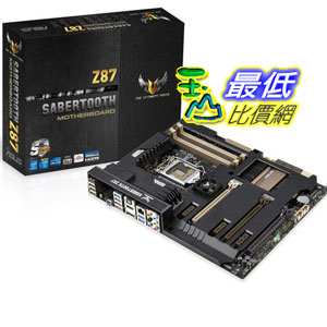 [美國直購 ShopUSA] Asus 主機板 Sabertooth Z87 LGA 1150 Motherboard $10700