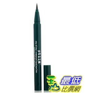 [美國直購] stila Stay Moss B00A1RM4HE 深綠色 All Day Waterproof Liquid Eye Liner, 防水眼線筆_T01