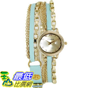 [美國直購 USAShop] Geneva Platinum 手錶 Women's Watch 7999.MINT.GOLD _mr $2339