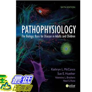 (2013 美國暢銷書榜單)Pathophysiology 6e [Hardcover] Kathryn L. McCance 0323065848 $5566