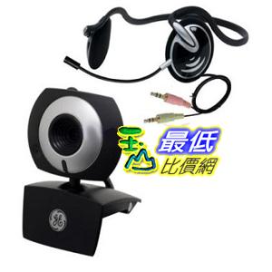 [美國直購 ShopUSA] GE 立體聲耳機 1.3 MP MiniCam Pro with PC Stereo Headset - 98003 $743