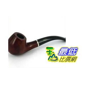 [103玉山網] CHANG FENG 木紋 菸斗 煙斗 附小型收納袋 父親節的禮物 (37-130_G02) $129