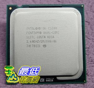 [104 玉山網 裸裝 二手] Intel奔騰雙核E5300 散片CPU現貨成色好 英特爾首選