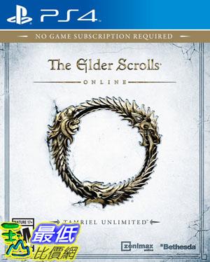 (刷卡價)   PS4 上古卷軸 Online 無限泰姆瑞爾 亞版 英文版