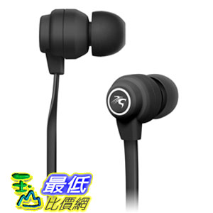 [104 美國直購] Sentey In-Ear Headphones Amplitude X180 (Black) with in-line MIC LS-4101