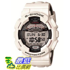 [美國直購 ShopUSA] Casio 手錶 G Shock Digital Dial White Resin Mens Watch GLS100-7CR bfy