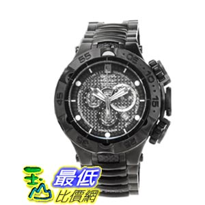 [美國直購 ShopUSA] Invicta Jason Taylor Chronograph Carbon Fiber Dial Black Ion-plated 男士手錶 14413