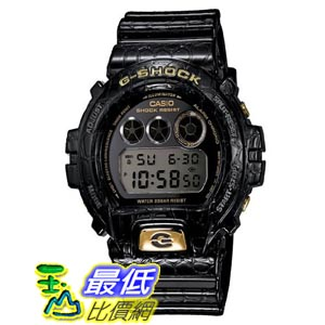 [美國直購 ShopUSA] Casio G-Shock Crocodile Textured Resin 男士手錶 DW6900CR-1CR bfy