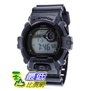 [美國直購 ShopUSA] Casio G-Shock Garish Color Super Illuminator Blue Digital Dial and Resin Strap 男士手錶 G8900SH-2CR bfy