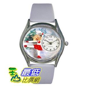 [美國直購 ShopUSA] Whimsical 手錶 Women's S0810006 Ice Skating Red Leather Watch $1945