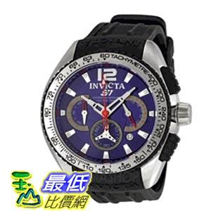 [美國直購 ShopUSA] Invicta S1 Racing Chronograph Blue Dial Stainless Steel 男士手錶 1451