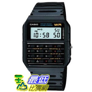 [美國直購 ShopUSA]  Casio Databank Calculator 男士手錶 CA53W bfy