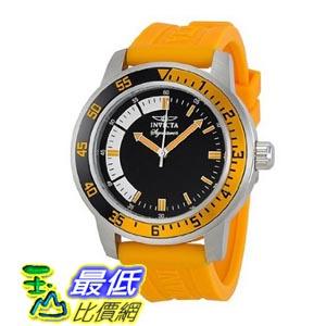 [美國直購 ShopUSA] Invicta Signature II Black Dial Orange Rubber Strap Mens Watch 7462