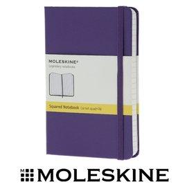 義大利 MOLESKINE 62930291 彩色方格筆記本/ 紫192 /P