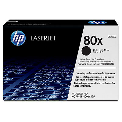 【HP 碳粉匣】HP CF280X/80X 原廠黑色高容量碳粉匣