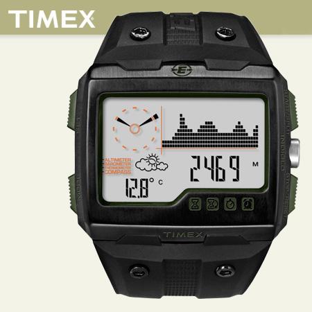 TIMEX遠征探索登山腕錶 EXPEDITION超越巔峰探險手錶 功能性超強 柒彩年代【NE1106】原廠公司貨
