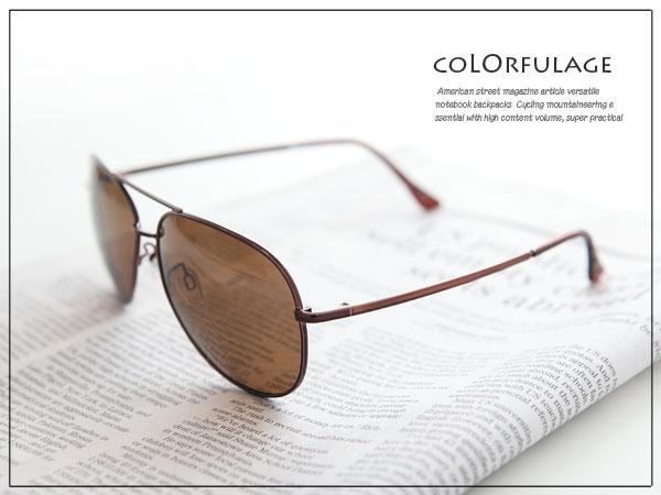 柒彩年代【NY130】太陽眼鏡偏光鏡片鏡架 夏季必搭抗UV400.防眩光
