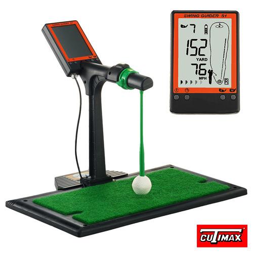 SWING GUIDER S1 立體3D旋轉大螢幕高爾夫揮桿練習器(BECM888)★2/228前購買+ 送Dura Tee 2隻★