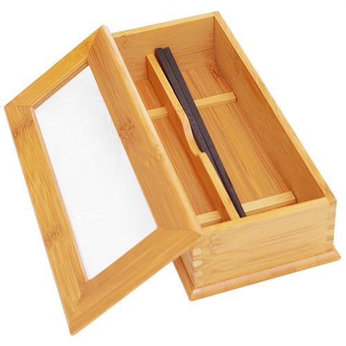 JoyLife 透視竹製筷盒(BFJ54)