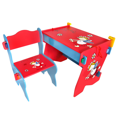 kikimmy 活潑天使收納書桌椅組(BJK002)