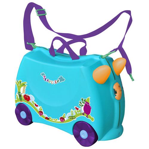 兒童可乘式遊戲車行李箱-藍色(BJLV001B)
